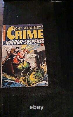 Fight Against Crime Horror And Suspense 12 Bloody PRE CODE Cover EC Style Comic