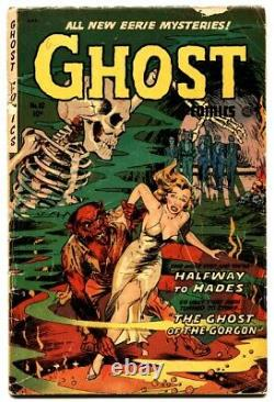 Ghost #10 1954 Fiction House-monster attack-Dr Drew. Pre-code horror comic