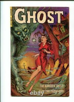 Ghost Comics #1 Fiction House 1951 Rare Golden Age OW Pages GGA Pre-Code Horror
