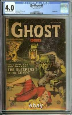 Ghost Comics #6 Cgc 4.0 Cr/ow Pages // Golden Age Pre Code Horror