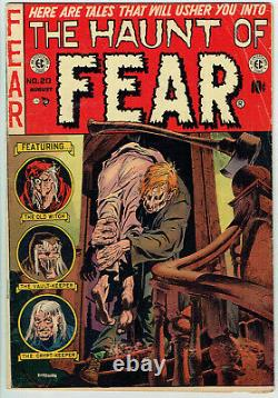 HAUNT OF FEAR 20 VG+/4.5 Classic Pre-Code Horror on EC from 1953