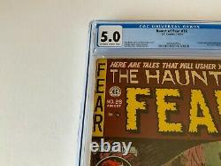 Haunt Of Fear 26 Cgc 5.0 Are You A Red Dupe Pre Code Horror Ec Comics 1954