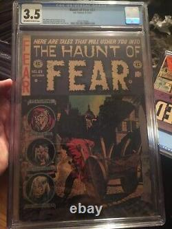 Haunt of Fear #21 CGC 3.5 OWithW Graham Ingels E. C. Golden Age Pre-Code Horror PCH