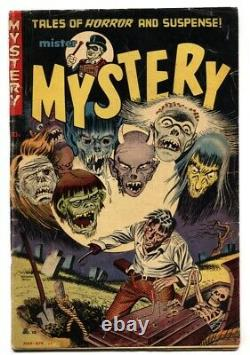 MISTER MYSTERY #10 comic book PCH pre-code horror Amputee cover