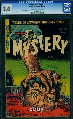 Mr. Mystery #13 1953 Certified 3.0 A SPECTACULAR PRE-CODE HORROR