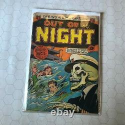 Out of the Night #10 Pre-code horror VHTF Ship of Death comic pch acg 1953 rare
