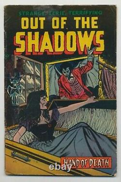 Out of the Shadows #12 (1954) VG- (3.5) Alex Toth Pre-Code Horror Comic