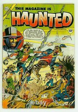 Rare This Magazine Is Haunted #16 Vg 4.0 Ditko Cover Pre-code Horror Comic 1954