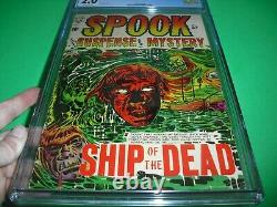 Spook #27 CGC 2.0 with OW pages 1954! LB Cole Pre Code Horror Classic not CBCS