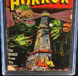 TALES of HORROR #7 (Toby Press 1953) CGC 3.0 ONLY 17 in CENSUS! Pre-Code