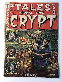 Tales From The Crypt #24 EC Comics Golden Age Pre-Code Horror Comic Book CLASSIC