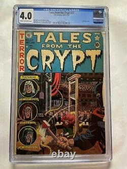Tales From The Crypt #27 CGC 4.0 Universal EC Comics 1951-1952 Pre-Code Horror