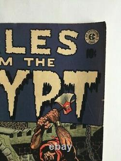 Tales From The Crypt #31 (Aug. 1952) GOLDEN AGE EC Comic! RARE Pre-Code Horror