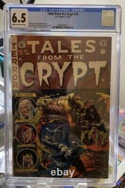 Tales From The Crypt #35, CGC 6.5, 1953 E. C. Comics Golden Age Pre-Code Horror