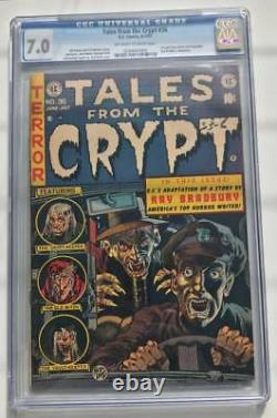 Tales From The Crypt #36 CGC 7.0 E. C. Comics Pre Code Golden Age Horror 1953