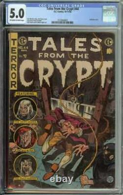 Tales From The Crypt #44 CGC 5.0 Guillotine Cover Pre-Code Horror