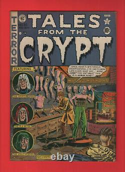 Tales from the Crypt 25 EC Precode horror Davis Wood Ingels some water damage