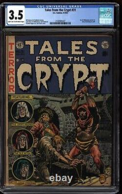 Tales from the Crypt #31 CGC 3.5 EC Comics 1952 Pre-Code Horror