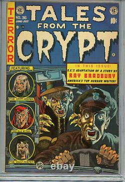 Tales from the Crypt #36 (EC Comics 6/7'53) CGC 6.5 (OW) Pre-Code Horror Comic
