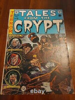 Tales from the Crypt #42 VINTAGE EC Comics Pre Code Horror Jack Davis Cover 10c