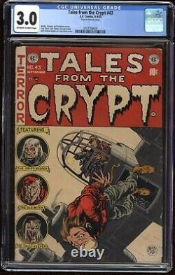 Tales from the Crypt #43 CGC 3.0 EC Comics 1954 Pre-Code Horror