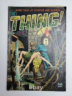 The Thing #9 Charlton Comics 1953 Golden Age Pre-Code Horror