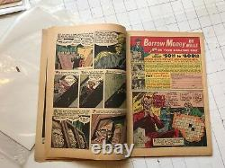 The Unseen #14 pre-code horror terror monsters of the deep comic book 1954 rare