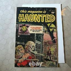This Magazine Is Haunted #4 Apr 1952 Fawcett PCH precode horror comic dr death