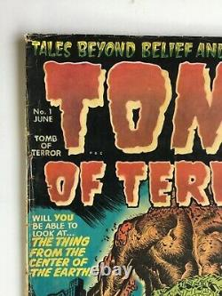 Tomb of Terror #1 First issue comic (June 1952) pre code GOLDEN AGE Horror