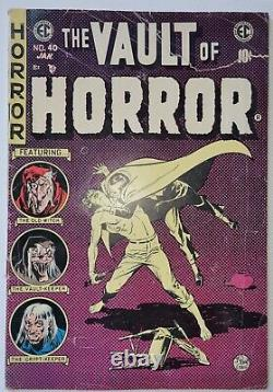 Vault of Horror #40 Pre-Code Golden Age EC Comics Tales from the Crypt G NR