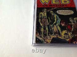 Web Of Mystery 27 Cgc 4.0 Pre Code Horror Hanging Noose Zombies Ace Comics